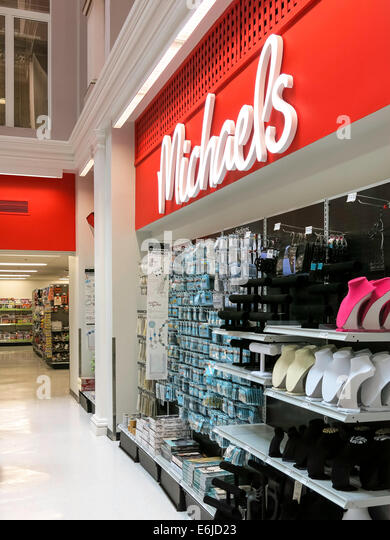 Michaels nyc stock photos michaels nyc stock images alamy for Arts crafts michaels stores
