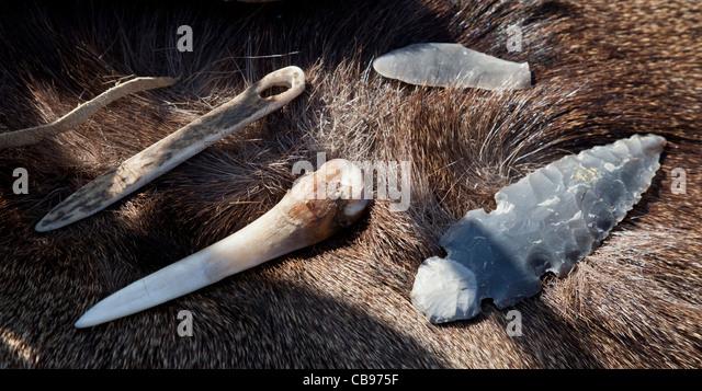 Lastest Palaeolithic Flint Worked Tools  Rock Tumbling Hobby