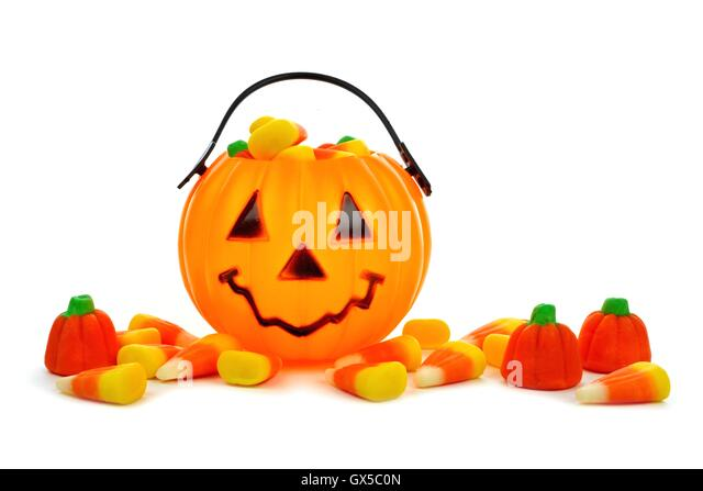 Pile Halloween Candy Corn Over Stock Photos & Pile Halloween Candy ...