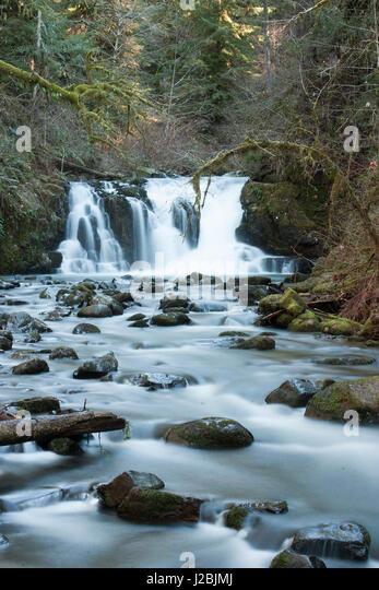 Crystal creek stock photos crystal creek stock images - Crystal pools waterfall ...