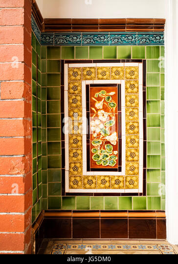 Edwardian Tiles Stock Photos Edwardian Tiles Stock Images Alamy