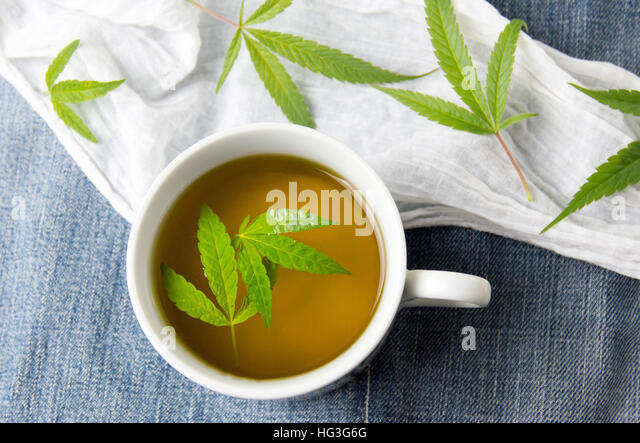 how to make cannabis tea with leaves