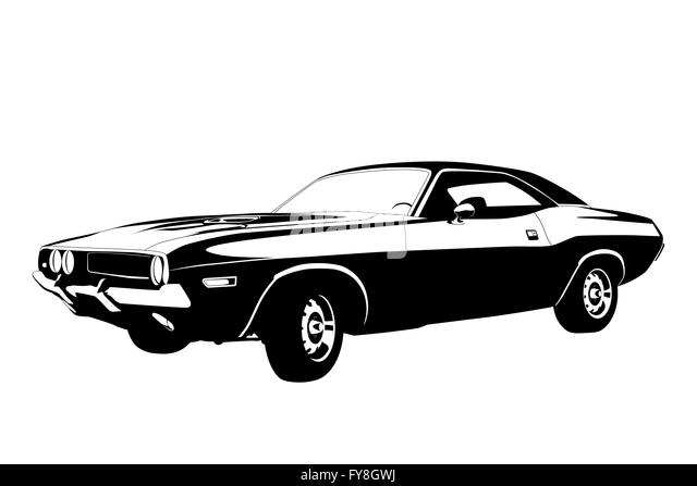 muscle car cut out stock images  u0026 pictures