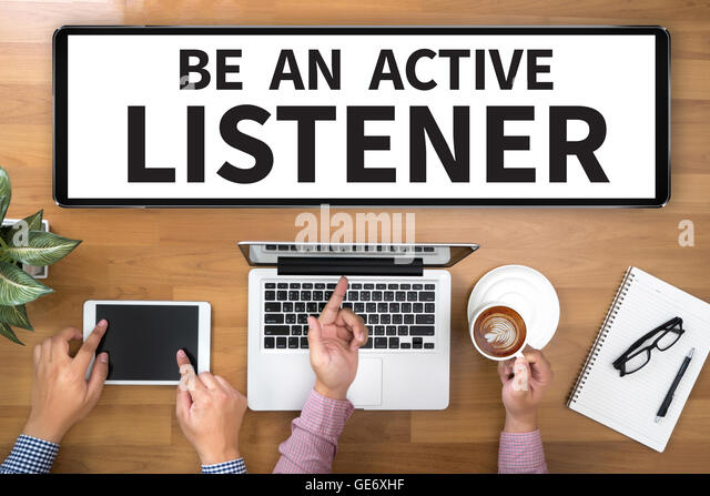 how to be an active listener at work