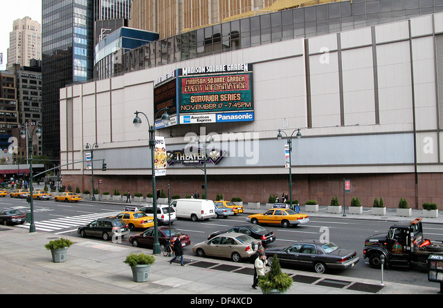 Madison Square Garden, Manhattan. New York City. USA   Stock Image