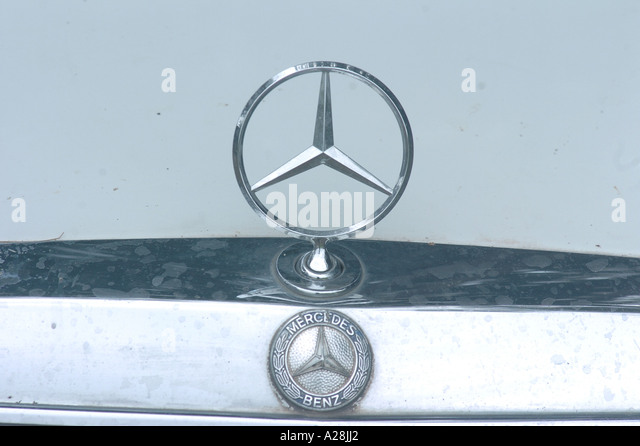 Benz car stock photos benz car stock images alamy for Mercedes benz stock symbol