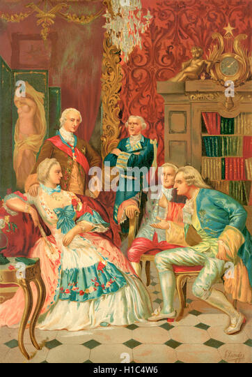 french court stock photos french court stock images alamy madame de pompadour holding court in french society 18th century jeanne antoinette poisson