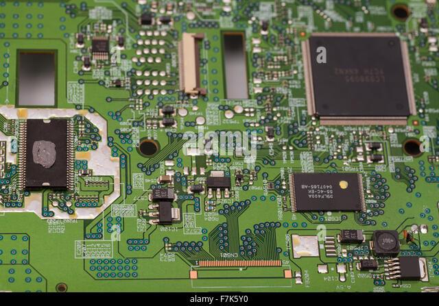 Integrated Circuit Board Close Up Stock Photos ...