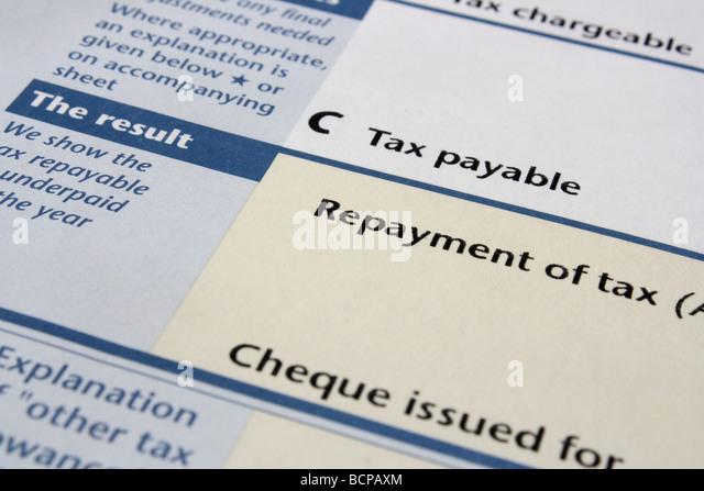 hmrc income tax claim form