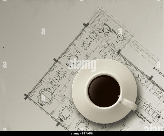 Blue print architectural stock photos blue print for Architectural engineering concepts