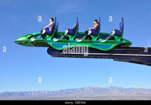 Las Vegas Stratosphere Ride Stock Photos & Las Vegas ...