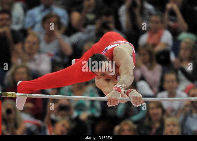 Kristian Thomas Great Britain High Bar Mens Team Artistic Gymnastics