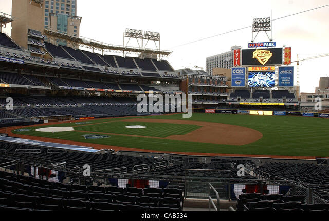 The Newly Constructed Petco Park Home Of San Diego Padres Will Officially Open Tomorrow