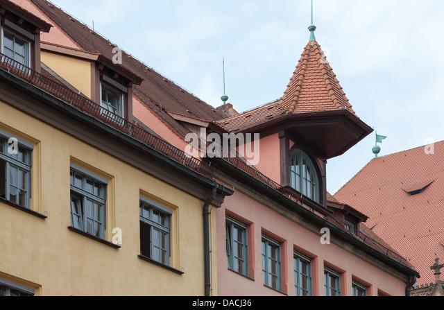 Roof Tops Nuremberg Germany Europe. - Stock Image & Roof Rooves u0026 Cute Thatch Roof Cottage memphite.com