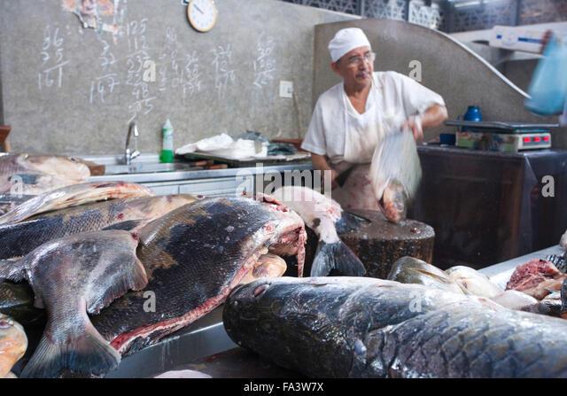 Manaus brazil fish market stock photos manaus brazil for River fish market