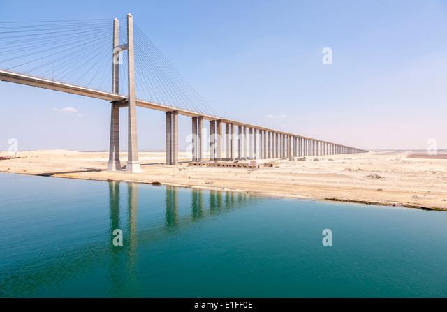 Bridge canal suez