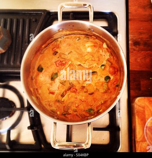 Big Cooking Pot Stock Photos & Big Cooking Pot Stock