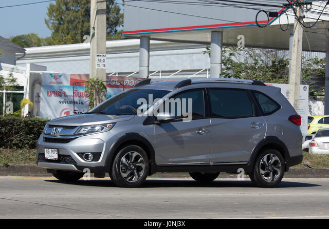 CHIANG MAI, THAILAND  JANUARY 16 2017: Private Car, Honda BRV City Suv