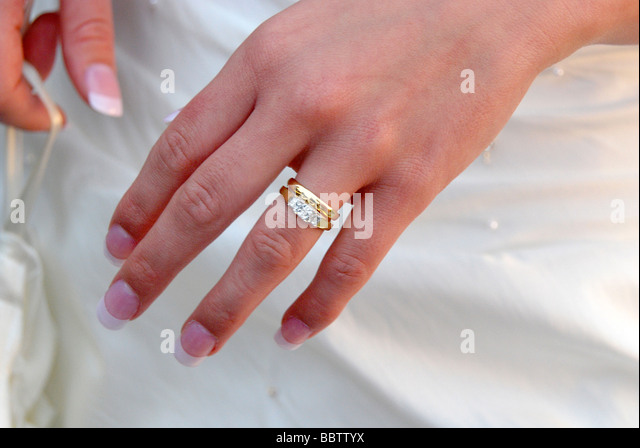 fiddling with wedding ring