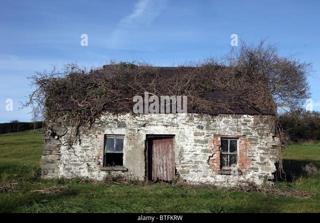 derelict cottage ireland stock photos derelict cottage ireland stock images alamy. Black Bedroom Furniture Sets. Home Design Ideas