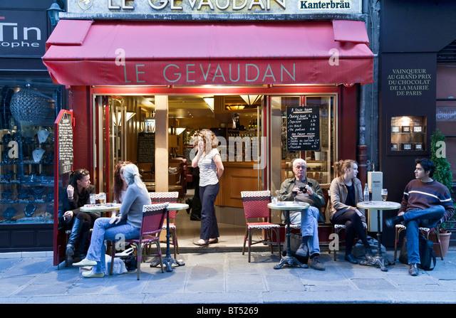 Cafe Le Select Paris Menu