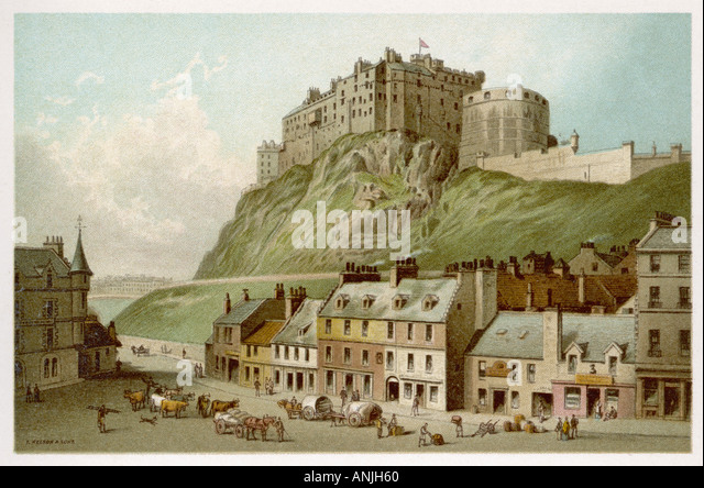 stock edinburgh castle - photo #39
