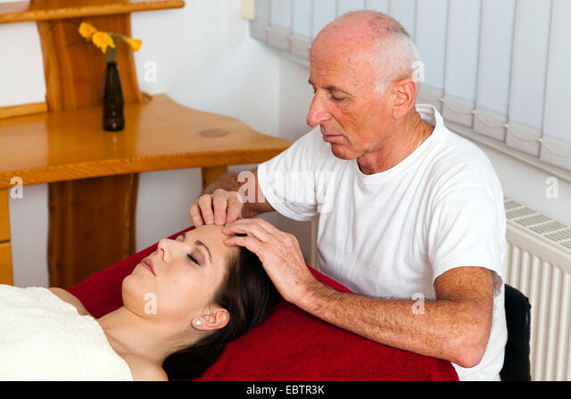 old and young massage