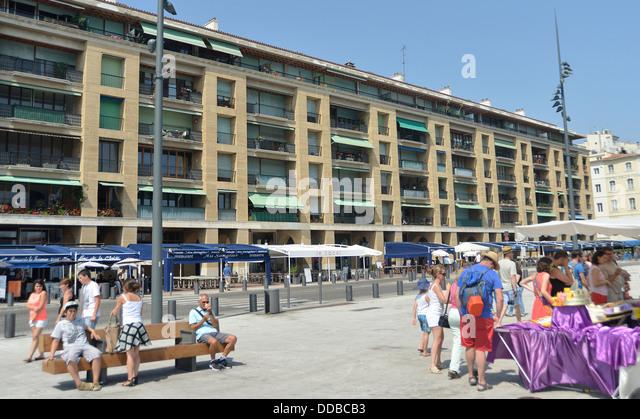Promenade du vieux port stock photos promenade du vieux - Promenade bateau marseille vieux port ...