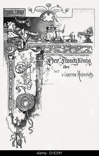 the frog king or iron henry The frog prince, iron henry, the frog king, or iron heinrich, is a fairy tale best known through the brother's grimm's written version the fairy tale.