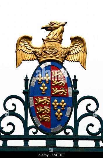 The fleur de lis meaning stock photos the fleur de lis meaning st johns college coat of arms shown as a cut out on white background voltagebd Choice Image