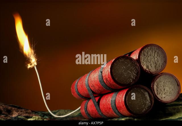 Dynamite Sticks Stock ...