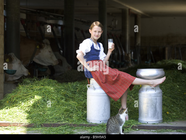 http://l7.alamy.com/zooms/940ca98634c747128157461f857b2438/girl-farm-milk-can-sitting-glasses-milk-cat-drink-stall-cows-13-years-b9h9a5.jpg