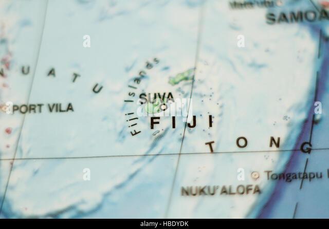 Republic Fiji Fijian Nation Stock Photos Republic Fiji Fijian - Republic of fiji map