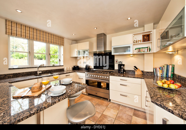 Fitted Kitchen Stock Photos Fitted Kitchen Stock Images Alamy