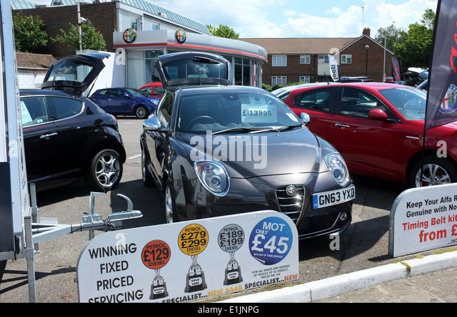 dealer car display stock photos dealer car display stock images alamy. Black Bedroom Furniture Sets. Home Design Ideas