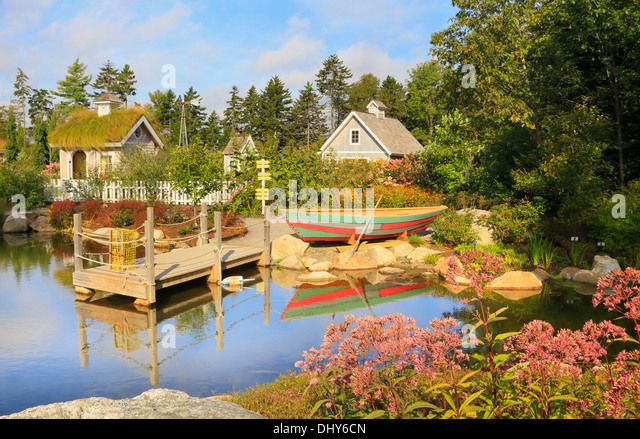Exceptionnel Childrens Garden, Coastal Maine Botanical Gardens, Boothbay, Maine, USA    Stock Image