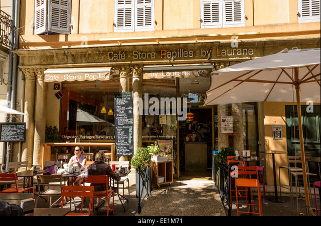 woman sitting in a cafe france stock photos woman sitting in a cafe france stock images alamy. Black Bedroom Furniture Sets. Home Design Ideas