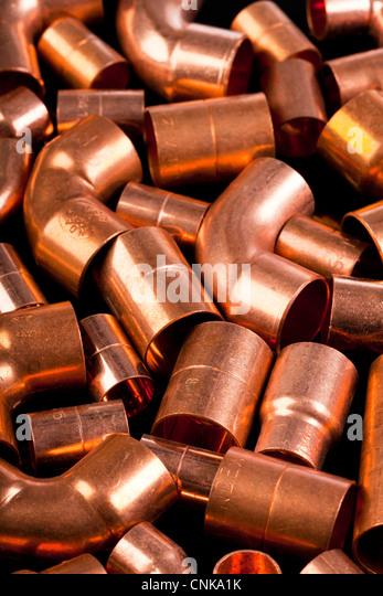 Copper Coloured Kitchen Waste Bin