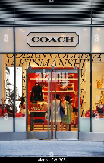 coach apparel outlet ubhs  Coach designer handbag store, New York, USA