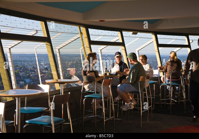 Visitors eating and drinking in caf  atop the Space Needle in Seattle  Washington  USA  Seattle Restaurant Stock Photos   Seattle Restaurant Stock Images  . Dinner Seattle Space Needle. Home Design Ideas