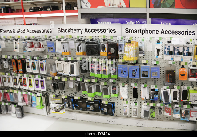Smartphone Outlet blackberry phone iphone stock photos & blackberry phone iphone