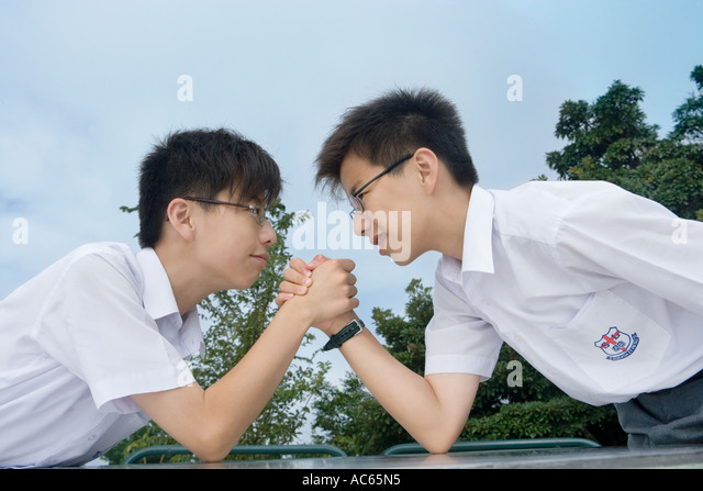 Teenage Boys Wrestling Stock Photos Amp Teenage Boys