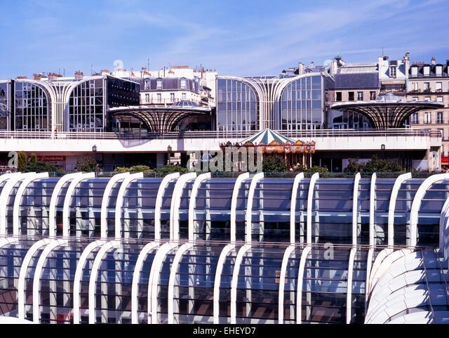 Paris shopping centre stock photos paris shopping centre stock images - Les halles boutiques ...