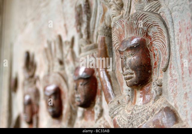 Apsara figures stock photos images