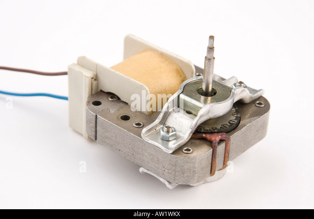 Electromagnetic induction stock photos electromagnetic for Shaded pole induction motor