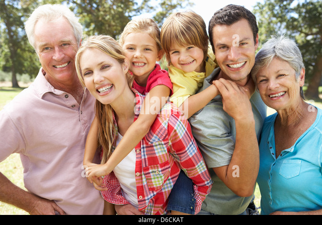 living in extended family The extended family is making something of a comeback, thanks to delayed marriage, immigration and recession-induced job losses and foreclosures that have forced people to double-up under one roof.