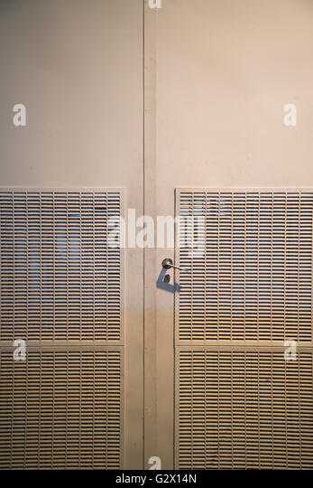 Frontal door for interior stock photos frontal door for for Door ventilation design