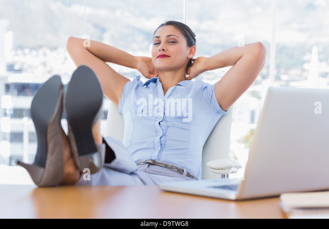 attractive businesswoman having a nap stock image business nap office relieve