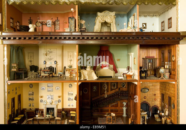 Close up of the interior of a Victorian dolls house Stock ImageInterior Of Dolls  House Stock Photos Interior Of Dolls HouseDolls House Interiors  Close up of doll s house interior Stock  . Dolls House Interiors. Home Design Ideas