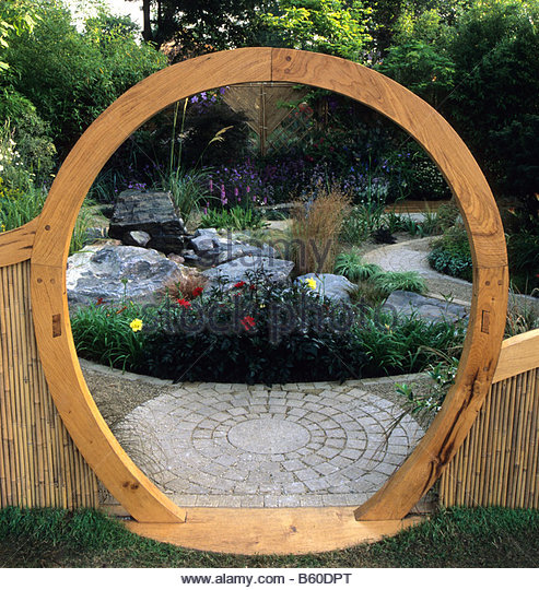 feng shui garden design pamela stock photos feng shui garden design